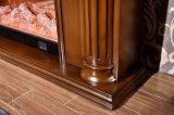 Cheminée électrique d'hôtel de chaufferette en bois moderne de meubles avec du ce (332B)