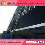 Indicador de diodo emissor de luz ao ar livre da cor cheia do MERGULHO P16 para anunciar a tela