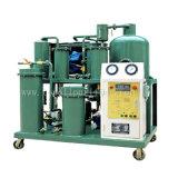 Máquina preta da filtragem do petróleo hidráulico de óleo de lubrificação do petróleo de motor (TYA)