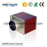 Pista grande ampliamente utilizada del Galvo de la potencia Js3808 para el grabado del laser/la cortadora