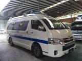 De hete Verkopende Diesel van het Dak van Toyota Hiace Hoge 3.0L Ziekenwagen van Rhd