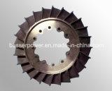 Ts16949 les certificats Inconel 713/718/625/600 turbine de pièce de rechange de turbocompresseur de coulée sous vide partie le moulage de moulage de turbines de Turbo