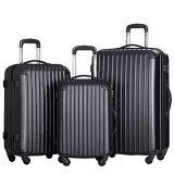 4車輪のスーツケース3 PCSの荷物セット