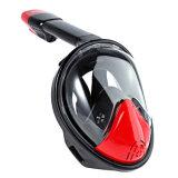 2017 высокая профессиональная маска Snorkel силикона высокого качества Black+Red