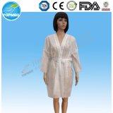 Robes longues remplaçables non-tissées blanches de kimono pour l'homme