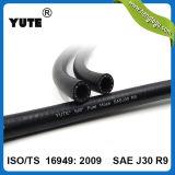 Yuteのブランドの普及した黒いオイルの抵抗力があるゴム製ホースの燃料ホース