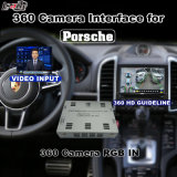 Relação da vista traseira & do panorama 360 para Porsche Macan Panamera Cayenee etc. com a tela do molde da entrada de sinal do sistema Lvds RGB do PCM 4.0