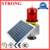 Estroboscópico de carga automático solar del piloto LED