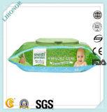 Wipe biodegradabile del bambino di alta qualità di Flushable 100%