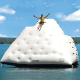 Lona inflable gigante Wager juego del parque Iceberg