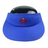 Visiere su ordinazione del cappello di Sun della protezione della visiera di Sun di colore del regalo promozionale varie
