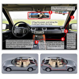 Macchina fotografica piena del precipitare del veicolo dell'automobile di HD con il magnetoscopio