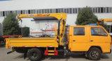 La doppia carrozza di Isuzu 2 tonnellate di gru pieghevole ha montato con il camion di XCMG