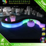 Muebles iluminados recargables plásticos de la barra del LED