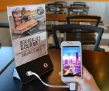 Batería 2017 de la potencia del soporte 10000mAh del menú de la barra de la cafetería del restaurante