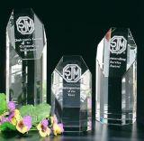 Trofeo del premio di cristallo di figura del libro per i ricordi