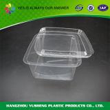 Recipiente quadrado plástico com tampa