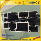 Poudre Profil de revêtement de portes et fenêtres avec thermique Break-Strip