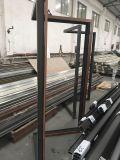 Окно окна алюминиевого угловойого окна фикчированное стеклянное