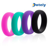 Anéis de silicone personalizados para casamento
