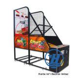 Macchina dell'interno di vendita calda del gioco della galleria di pallacanestro di divertimento 2-Player (ZJ-BG01)