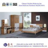 قوانغتشو فندق أثاث غرف النوم سرير خشبي أثاث المنزل (SH-002 #)