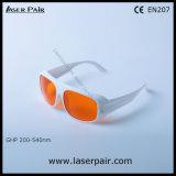 стекла /Protection защитных стекол лазера 532nm с пропускаемостью 50% видимого света & O.D5+ @ 200-540nm для Excimer, ультрафиолетового луча, зеленого лазера