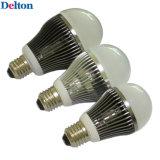 lumière d'ampoule de haut de C.P. DEL de lumen élevé de 5/7/12W E27 pour l'économie d'énergie