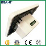 Prise murale USB à économie d'énergie pour charge électronique d'équipement, blanc, 2.4A