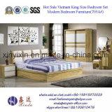 Luxux-PU-lederne Bett-Hotel-Schlafzimmer-Möbel-Sets (702A#)