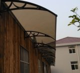 Polycarbonat-Regen-einziehbare Fenster-Markise
