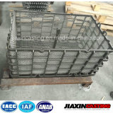 炉のための耐熱性および耐久力のある無水ケイ酸SOLの鋳造のバスケット