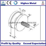 suporte isolador de vidro da braçadeira do vidro de 70mm para os trilhos de vidro da balaustrada