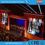 Visualización de LED de interior de alquiler de alta resolución P4.81 para los acontecimientos