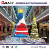 Muestra publicitaria curvada a todo color de la galaxia P2.98/P3.91/P4.81/P5.95 LED Screen/LED Display/LED Advertizing/LED