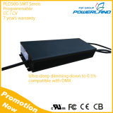 500W Outdoor 0-10V / PWM / Rset / Clock / DMX Dimming Programmable LED Driver
