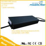 500W ao ar livre 0-10V / PWM / Rset / Clock / DMX Dimming Programmable LED Driver