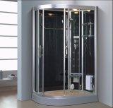 sauna cinzenta do vapor do setor de 1200mm com o chuveiro para as únicas pessoas (AT-D0902A)