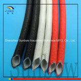 Sunbow che isola la gomma di silicone interna rossa dell'UL 10mm fuori del manicotto della vetroresina della gomma di silicone della vetroresina