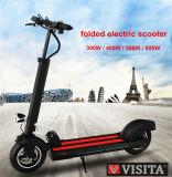 リチウム電池が付いている300WアルミニウムFoldable電気スクーター