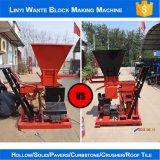 Máquina de bloqueio do tijolo da argila Wt1-25 para o bloco oco