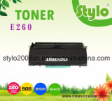 Cartucho de toner compatible del laser de Lexmark del toner de la impresora E260