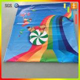 Produire un drapeau comique de publicité de tissu de Frontlit
