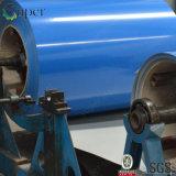 La configuration en bois a peint la bobine en acier