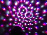 5 цветов СИД DJ Party репроектор светлого шарика Rgbwp миниого СИД кристаллический волшебного светлый с дистанционным управлением
