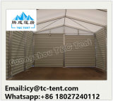 Поставщик Китая самый лучший временно шатра пакгауза с стальными стенами или стенами PVC или стеной ABS
