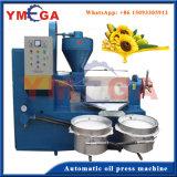 Expulsor espiral Integrated durável de tipo automático do petróleo de coco para o petróleo comestível