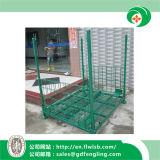 Подгонянная складывая тара для хранения для пакгауза Forkfit
