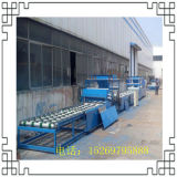 火災予防のボードの生産設備