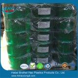 Gordijn van de Strook van pvc van de Fabrikant van Langfang het Antistatische Groene Vlakke Flexibele